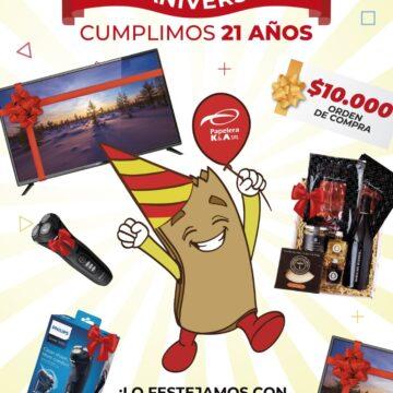 PROMO ANIVERSARIO $10.000, Smart TV 43 y Mucho mas!